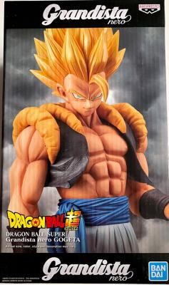 DRAGON BALL Z - GOGETA SSJ - FIGURINE GRANDISTA NERO