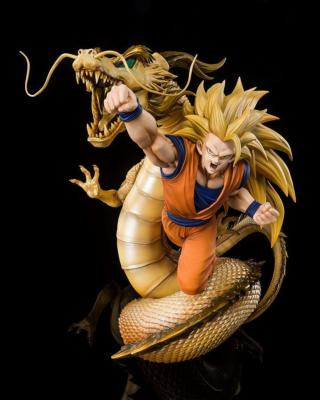 DRAGON BALL Z - FIGURINE GOKU SSJ 3 - EXTRA BATTLE - FIGUARTS ZERO