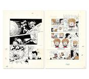 DR SLUMP- SET de 2 PLANCHES REPRODUCTION OFFICIELLE - 50th Weekly JUMP