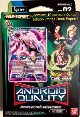 DRAGON BALL SUPER CARD GAME - EXPERT DECK 2  - ANDROID DUALITY