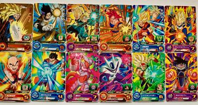 SUPER DRAGON BALL HEROES - PCS7 - FULL SET 12/12