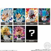 DRAGON BALL - FULL SET 7 FIGURINES - CHOU SENSHI