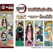 KIMETSU NO YAIBA - LONG STICKERS DEMON'S SLAYER - 1 BOOSTER