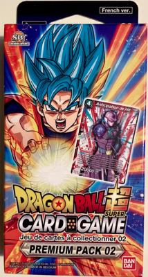 DRAGON BALL SUPER CARD GAME - PREMIUM PACK 02 ANNIVERSARY