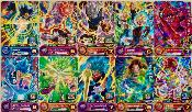 SUPER DRAGON BALL HEROES - FULL SET PUMS6 Version NO GOLD - 30/30